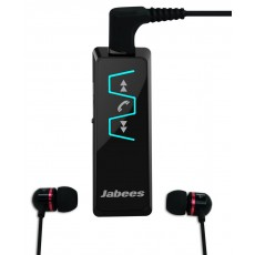 Bluetooth Hands Free Jabees IS901 Music Stereo Headset 5-in1 with Detachable Earpieces 3.5mm Black