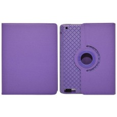 Book Case Ancus Rotate Apple iPad 2, 3, 4 Purple