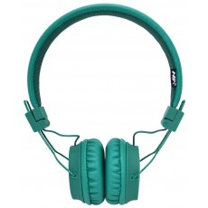 Headphone Stereo NIA Foldable NIA-A1 3.5 mm Green with Microphone for Mobile Phones, Tablet and Electronic Devices