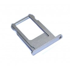 Sim Card Tray Sim Apple iPhone 6S Silver Original