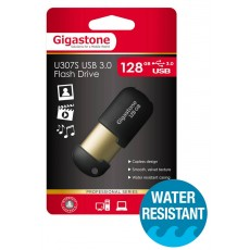 USB 3.0 Gigastone Flash Drive U307S 128GB Black Professinal Series Metal Frame