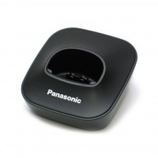 Charging Cradle for Dect Panasonic KX-TG1611 Black Bulk