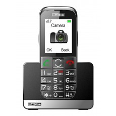 "Maxcom MM720BB 2.2"" with Large Buttons, Bluetooth, Radio, Torch, Camera and Emergency Button Black"
