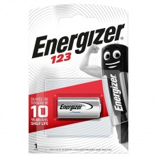 Battery Lithium Energizer CR123 3V Pcs. 1