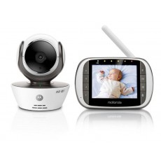 "Baby Monitor Motorola MBP853 Connect WiFi HD 720p with 3.5"" Diagonal Colour Screen, Compatible with Android, iOS, Windows, Mac"