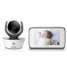 "Baby Monitor Motorola MBP854 Connect WiFi HD 720p with 4.3"" Diagonal Colour Screen, Compatible with Android, iOS, Windows, Mac"