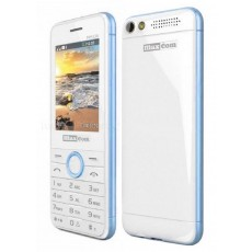 "Maxcom MM136 (Dual Sim) 2,4"" with Camera, Torch and FM Radio White - Blue"