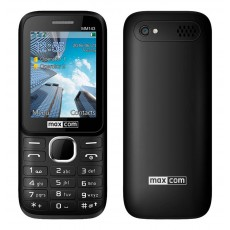 "Maxcom MM143 3G (Dual Sim) 2.4"" with Camera, Bluetooth, Torch and FM Radio Black"