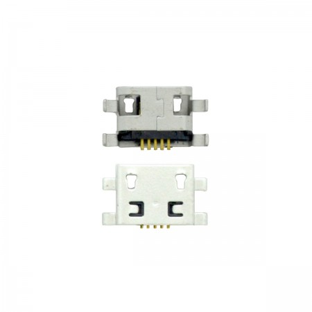 Plugin Connector Universal Micro Usb 5-pin for Tablet, Mobile Phone (0.7cm x 0.6cm)