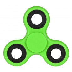 Fidget Spinner ABS Plastic 3 Leaves Green 2.5 min
