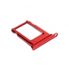Sim Card Tray Sim Apple iPhone 7 Red Original