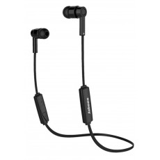Bluetooth Hands Free Jabees OBees Sport with Flat Cable Black