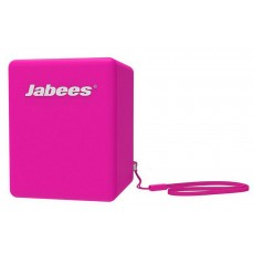 Outdoor Proof Wireless Speaker Bluetooth Jabees Bobby Cake 3 Watt Purple with Speakerphone and Audio-in