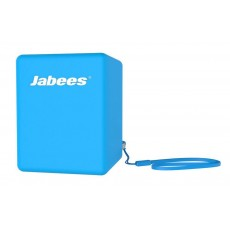 Outdoor Proof Wireless Speaker Bluetooth Jabees Bobby Cake 3 Watt Blue with Speakerphone and Audio-in