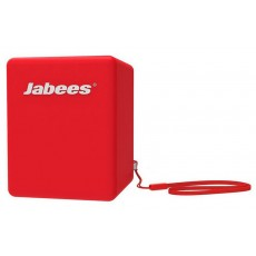 Outdoor Proof Wireless Speaker Bluetooth Jabees Bobby Cake 3 Watt Red with Speakerphone and Audio-in