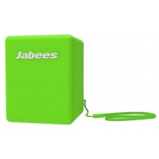 Outdoor Proof Wireless Speaker Bluetooth Jabees Bobby Cake 3 Watt Green with Speakerphone and Audio-in