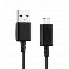 Data Cable Ancus USB to Micro USB 30 cm Black
