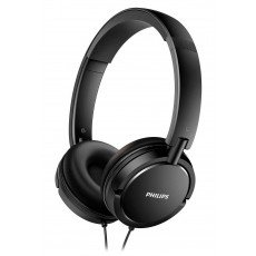 Philips Stereo Headphone On-Ear SHL5000/00 3.5 mm Black for mp3, mp4 and sound devices