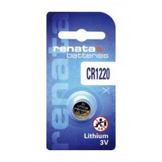Buttoncell Lithium Electronics Renata CR1220 Pcs. 1