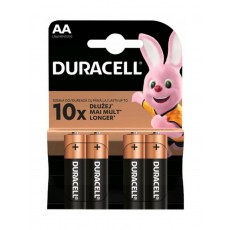Battery Αlkaline Duracell Long Lasting LR6 / MN1500 size AA Pcs. 2