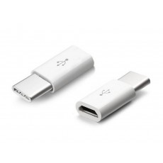 Adaptor Ancus HiConnect Micro Usb to USB-C White