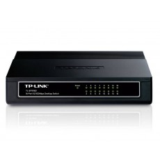 Ethernet Switch TP-Link TL-SF1016D 10/100Mbps 16 Port 5V 600mA v6.0