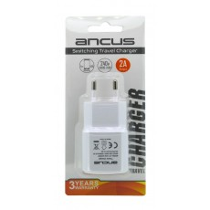 Travel Charger Ancus Usb 2000 mAh Switching 5V White