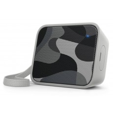 Wireless Portable Speaker Philips Pixel Pop BT110C/00 4W Sweat-Proof IPX4 Grey with Speakerphone and 3.5mm Audio-in Connector