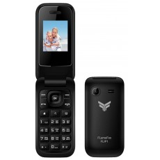 "FlameFox Flip1 (Dual Sim) 1.77"" with Bluetooth, Camera, FM Radio (Operates without Handsfree)"