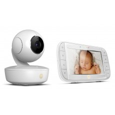 "Baby Monitor Motorola MBP50 with 5.0"" Diagonal Colour Screen, Night Vision and Up to 300m Range"