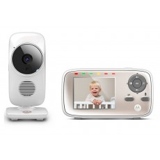 "Baby Monitor Motorola MBP667 Connect WiFi HD 720p with 2.8"" Diagonal Colour Screen, Compatible with Android, iOS, Windows, Mac"