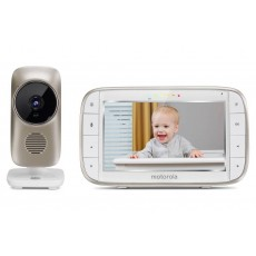 "Baby Monitor Motorola MBP845 Connect WiFi HD 720p with 5.0"" Diagonal Colour Screen, Compatible with Android, iOS, Windows, Mac"