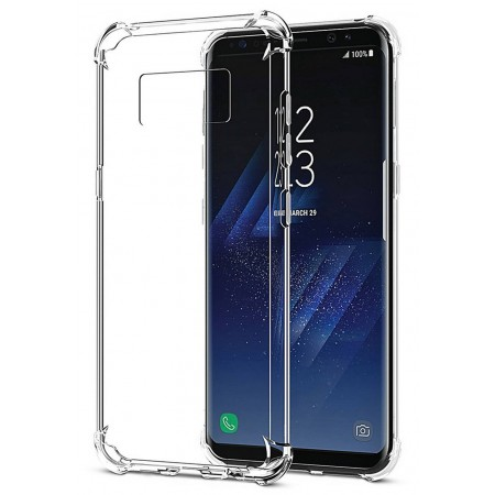 Case TPU Ultra Thin Ancus Shockproof  for Samsung SM-G950F Galaxy S8 Transparent