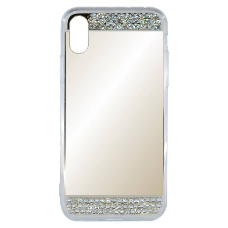 Case Faceplate Ancus Luxury Diamond for Apple iPhone X Gold
