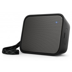 Wireless Portable Speaker Philips Pixel Pop BT110B/00 4W Sweat-Proof IPX4 Black with Speakerphone and 3.5mm Audio-in Connector