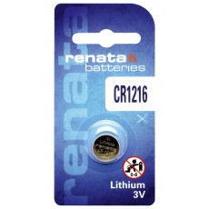 Buttoncell Lithium Electronics Renata CR1216 Pcs. 1