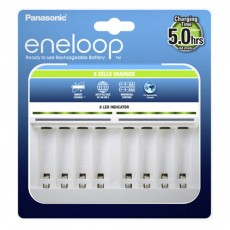 Battery Charger Panasonic Eneloop BQ-CC63E for AA/AAA up to 8 Baterries