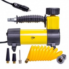 Mini Compressor Dunlop 12V 100 PSI 7 Bar