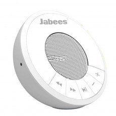 Wireless Speaker Bluetooth Jabees Hemisphere 3W White with Speakerphone and Audio-in