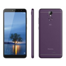 "Hisense F24 Infinity 4G LTE (Dual SIM) 5.99"" Android 7.0 1440*720 HD+ 2GB/16GB Purple with Case & Tempered Glass"