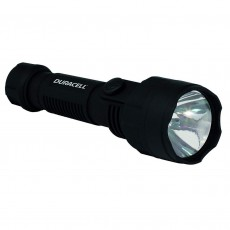 Duracell Voyager Black Flashlight 1 Led Super-Clear OPTI-1 / 40 Lumens/Distance 21m