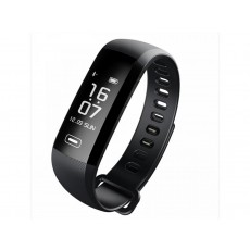 Maxcom Smartband FitGo FW11 Light IP67 Black Silicon Band. Extra Strap Purple