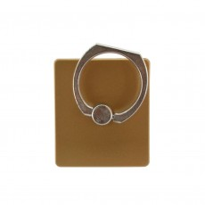 Mobile Stand 360° Rotating Ring for Smartphones Gold 3.5 x 4 cm