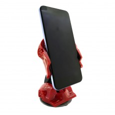 Universal Car Mount 360° Red-Black Car for Smartphones 3'' to 6'' Inches