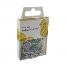 Head Pins Set 100 Pcs