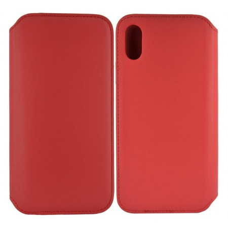 Book Case Folio for Apple iPhone X / XS Red