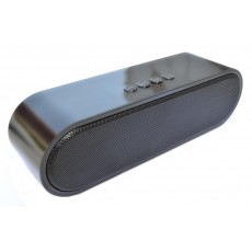 Wireless Portable Speaker S-211 2x5W Black with FM Radio, Audio-In, Speakerphone and USB Slot
