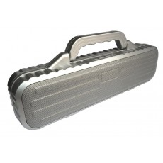 Wireless Portable Speaker S-60 2x10W Silver with FM Radio, Audio-In, Speakerphone and USB Slot