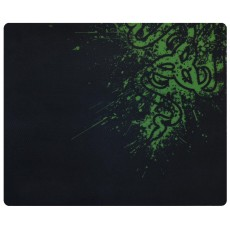Gaming Mousepad Rubber Black - Green (43 x 35 cm)