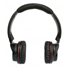 Headphone Stereo NIA Foldable NIA-Q3 Black with Bluetooth, Microphone, FM Radio and MP3 Player with Micro SD MC